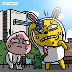 카카오 프렌즈 캐릭터 설명, 이모티콘 등 모음[카카오톡 빵!!]ㅋㅋ : 네이버 블로그