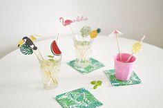 Diy Paper, Paper Crafts, Papier Diy, Tropical, Impression, Party, Lifestyle, Summer, Blog