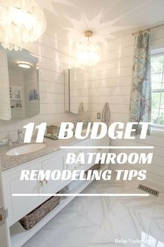 Bathroom Remodeling Budget Bella Tucker Decorative Finishes Diy Before And After Renovation Ideas