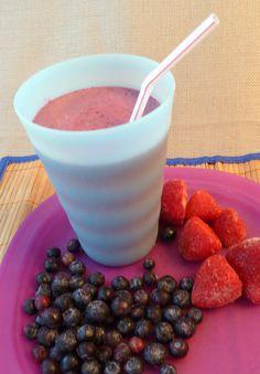 Gluten Free Berry Breakfast Smoothie