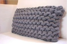 Big knitting needles...love these!