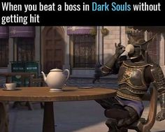 When you beat a boss Dark Souls without getting hit IG: UniladGaming