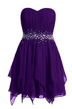 Kleider kurz lila