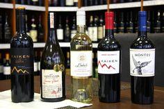 víno zo sveta Čile - Chile, Argentína Nový Zéland  Kaiken Babich Montes  Sauvignon Blanc   www.vinopredaj.sk