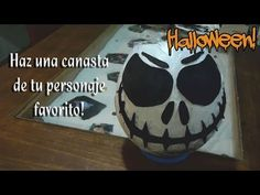 Como hacer una canasta de tu personaje favorito para Halloween - YouTube
