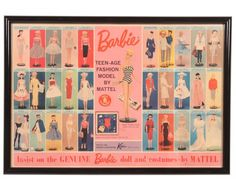 Can't get more mid-century than Barbie.