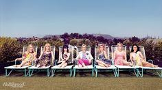 Comedy Actress Portraits - From left: Christina Applegate, Laura Dern, Zooey Deschanel, Jane Lynch, Julie Bowen, Martha Plimpton and Julia Louis-Dreyfus