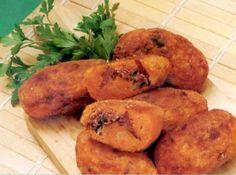 Bolinhos de Abóbora com Carne-Seca