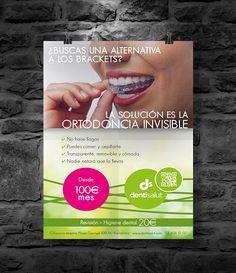 Flyer design · Dentisalut on Behance