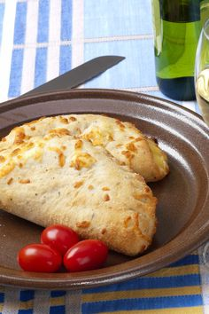 BBQ Chicken Calzones Recipe with Bacon