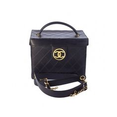 Auithentic Chanel Vanity Vintage ❤ liked on Polyvore featuring chanel