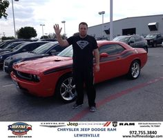 #HappyAnniversary to Ricky Conner on your 2010 #Dodge #Challenger from Mark Gill at Huffines Chrysler Jeep Dodge Ram Lewisville!