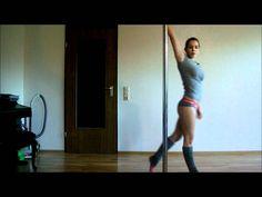 Pole Dance Tutorial: Reverse Attitude