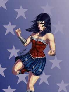 Wonder Woman 2 by ~FrozenSceptre on deviantART