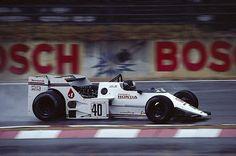 Stefan Johansson Spirit 201C Honda 1983 German Grand Prix at Hockenheimring