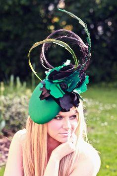 High Fashion Silk Beret Hat от GemmaJMillinery на Etsy, £275.00
