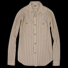 UNIONMADE Naturals Journal Standard Stripe Work Shirt Angle3
