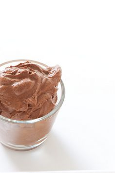 Really simple chocolate mousse