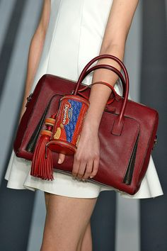 Love the fun design of this AW14 bag from Anya Hindmarch!