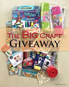 Its The Big Craft Stash Giveaway- 10 Awesome Bloggers 10 Awesome Craft Giveaways #giveaways #craftgiveaway