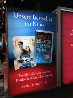 dtv auf der Frankfurter Buchmesse 2014: ›Das Schicksal ist ein mieser Verräter‹ von John Green