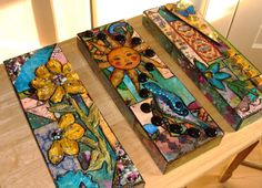 Repurposed Cigar Boxes | My Art Journal: Fun With Cigar Boxes