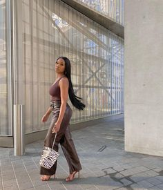 Girl Outfits, Casual Outfits, Fashion Outfits, Ootd, Grown Women, Instagram Pose, Black Barbie, 2000s Fashion, Fashion Killa