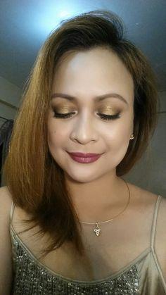 SHIMMERY  GOLD  EYE  FOR  NEW  YEARS  LOOK | LORAC  MEGA  PRO  PALETTE  2  @loraccosmetics #newyearslook2016 #makeupbycherrie #shimmerygold