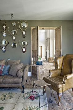 Isabel Lopez Quesada - I like the little antlers with the mini convex mirrors - different!