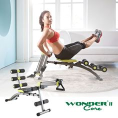 Frugal Smart Wondercore Body Fitness Equipment Machine With Exercise Mat Abdominal Exercisers