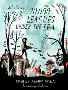 Click this cover for a sample of 20,000 Leagues Under the Sea. #audiobook #children #jules Verne