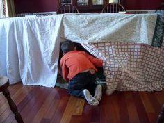 How To Build an Indoor Fort — Home Hacks