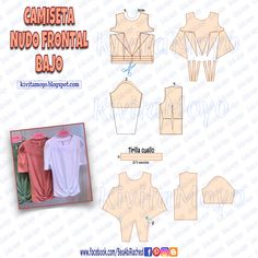 Formal Dress Patterns, Dress Sewing Patterns, Blouse Patterns, Clothing Patterns, Sewing Clothes, Diy Clothes, Pattern Draping, Baby Frocks Designs, Modelista