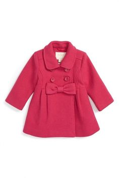 Kate Spade fit & flare coat (Baby Girls)