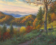 Newfound Memories II by Mark Keathley available at Texas Art Depot as a signed numbered giclee on canvas depicting the Great Smoky Mountain National Park's Anniversary Best Nature Wallpapers, Beautiful Nature Wallpaper, Beautiful Scenery, Desktop Background Nature, Desktop Backgrounds, Bob Ross Paintings, Art Paintings, Landscape Paintings, Landscapes