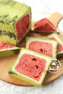Sweets and Coffee: Watermelon Bread