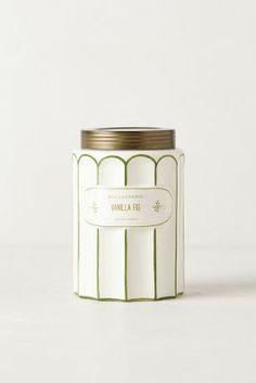 White + Gold Boulangerie Jar