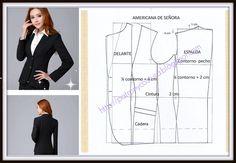 chaqueta americana de señora-tema 72