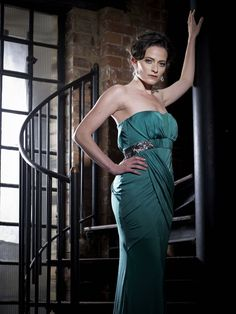 High quality galleries of British Celebrities featuring photoshoots, the red carpet, beach wear and candid shots. Lara Pulver, British Celebrities, Strapless Dress Formal, Formal Dresses, Beautiful Women, Bodycon Dress, Photoshoot, Actresses, Actors