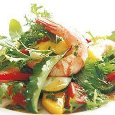 Prawn and mango salad @ http://allrecipes.com.au