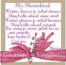 verjaarsdag wense vir n spesiale dogter – Google Search Afrikaans Quotes, Words, Google Search, Horse