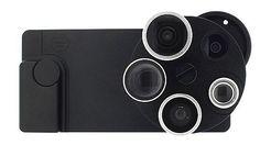 TurtleJacket Pentaeye, cuatro ojos para el iPhone 5 http://www.xataka.com/p/99417