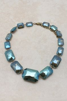 @emmastine #Andrina #Statement #Necklace it looks as if your neck was locked up by gems. This would light up the night sky aside from you dates eyes.