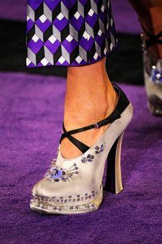 Mike Kagee Fashion Blog: PRADA WOMEN'S SHOE COLLECTION FALL/WINTER 2012/2013