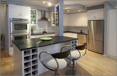 The #Abbey #Lofts, #Toronto Loft Kitchen, Lofts, Toronto, Kitchens, Table, Furniture, Home Decor, Loft Room, Loft