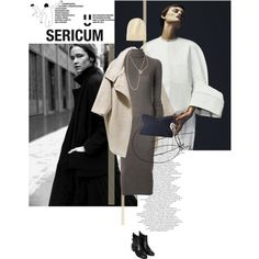 # 498 by greenbird on Polyvore featuring Rick Owens Lilies, Topshop, Maison Margiela, Uniqlo, 3.1 Phillip Lim and ...Lost