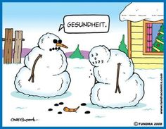 Geshundeit...   - comic by Chad Carpenter/Tundra Comics
