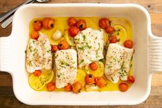 Baked Cod Fish Recipe In Oven.Lemon Parsley Baked Cod Recipe Taste Of Home. Baked Cod With Parmesan And Garlic Butter. Cod Fish Recipes, Seafood Recipes, Cooking Recipes, Healthy Recipes, Snack Recipes, Roasted Cod, Fish Dinner, Lidia Bastianich, Baked Fish
