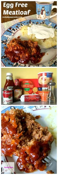 Egg Free Meatloaf: The Perfect Easy Meatloaf Recipe - rockabyeparents.com