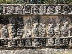 Chichen Itza Mayan Pyramid- 7 wonders of the world, Yucatan Peninsula, Cancun, Mexico Mexico Destinations, Travel Destinations, Cancun Mexico, Mexico Travel, Snorkeling, Wonders Of The World, Palm Trees, Wander, Places To Visit